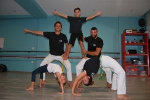 capoeira family, πολεμικές τέχνες, capoeira, χορός, δημιουργική απασχόληση, σύγχρονο, μουσική, μουσικοκινητική, ακροβατικά